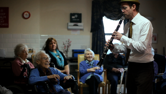 Moving Sounds Music for Dementia